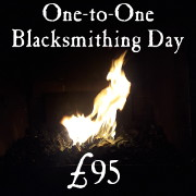 1 to 1 blacksmithing experience days